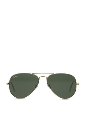 Ray-Ban Aviator Large Metal RB3025 Sunglasses RA370GL29SASSG_1