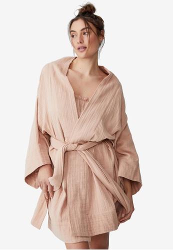 Cotton On Body beige Pre Party Robe 54F7AAAFC4262DGS_1