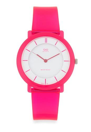 Vesprit 鞋Q94J011Y 彩色圓框手錶, 錶類, 其它錶帶