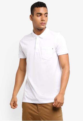 Cotton On white Icon Polo Shirt DC21BAA495EA2DGS_1