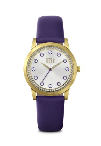 ELLE purple Jam Tangan Wanita Elle ES20100S04X 0032BAC2E87077GS_1