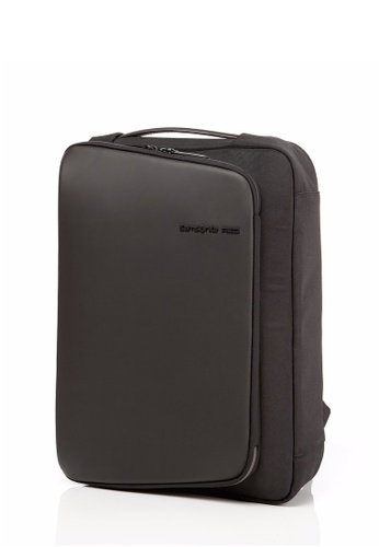 Samsonite Red black Samsonite Red Khardeon Backpack M 3Way (Black) SA464AC0SM1HMY_1