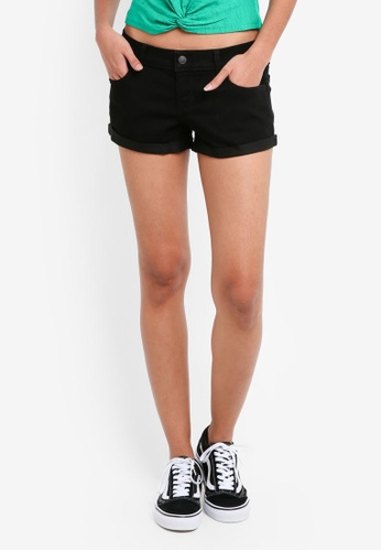 Hollister black Black Shorts 50F35AAA6A5E05GS_1