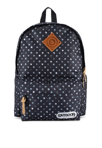 Outdoor Products black Pacman Backpack OU509AC55RHCMY_1