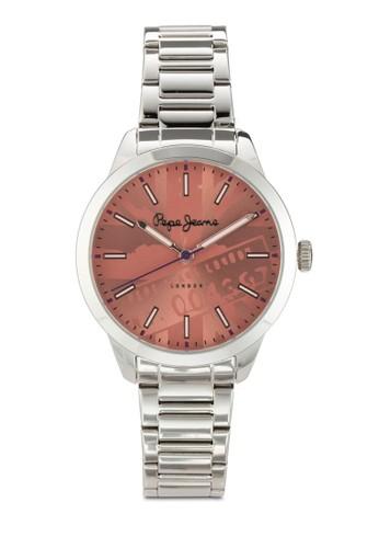 R235esprit 童裝3121505 Meg 圖案不銹鋼女錶, 錶類, 飾品配件