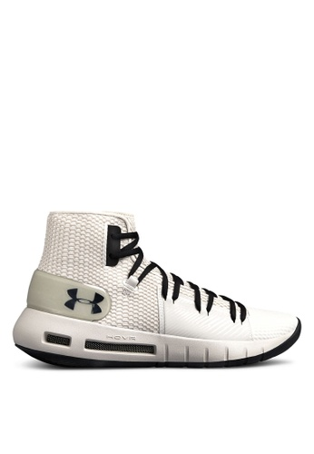 Under Armour grey UA Drive 5 Basketball Shoes 89BFBSH65FB8D4GS_1