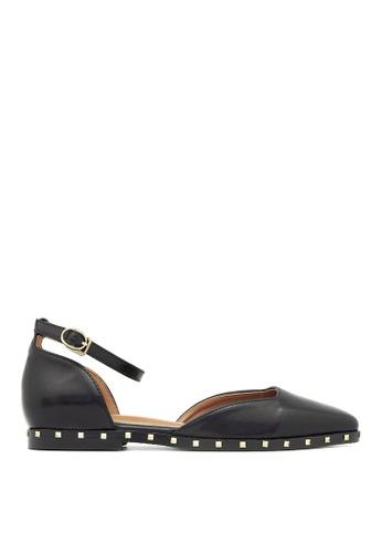 Carlo Rino black Carlo Rino 33350-A001-08 D'orsay Flats Sneaker (Black) F03ACSHF3662F5GS_1