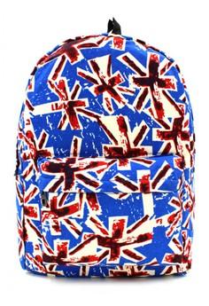 Urban Hikers UK Printed Casual Daypack Backpack