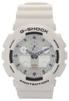 G-Shock Watch GA-100A-7ADR