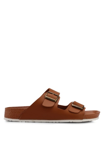Bata brown Bata Women Sandals 285E1SH73D31AAGS_1