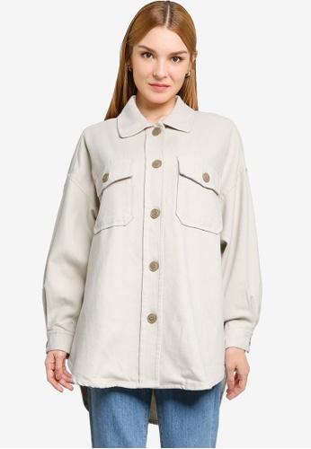 LOWRYS FARM white Pocket Shirt 992F3AAF5F555DGS_1