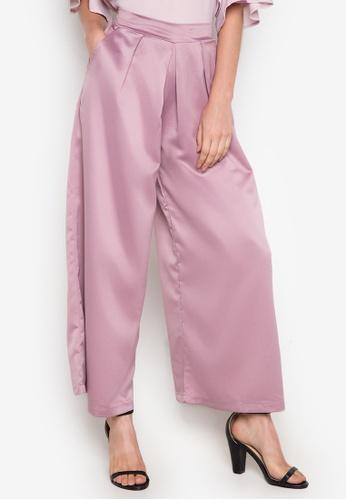 Chloe Edit pink Wide Leg Pants CH672AA0J9ABPH_1