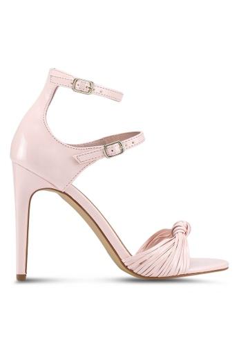 Rubi pink Mimosa Strappy Stiletto Heels 4AB32SHDB8AA0FGS_1