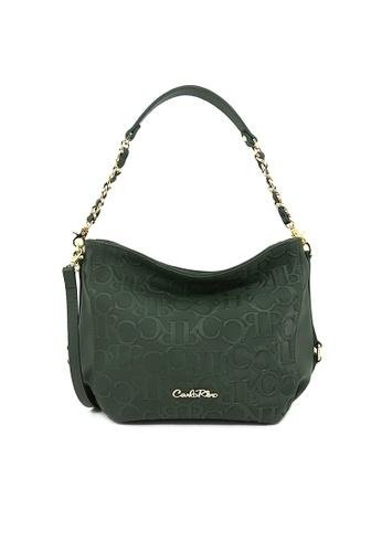 Carlo Rino green Carlo Rino 0304321-001-16 Shoulder bag (Army Green) 655EBAC6CEEB17GS_1