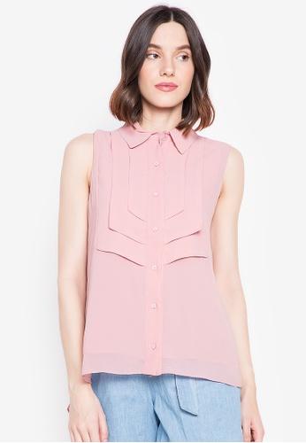 BLUSA pink Cordelia Sleeveless Top 19DABAA6921F6CGS_1