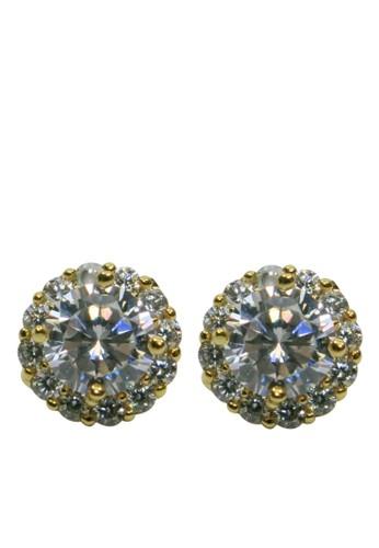 BALLIN gold Anting Wanita Hayden Earing Gold 93A52AC5C018CDGS_1