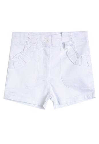 KOTON white White Pocket Shorts 99426KAD3E7592GS_1
