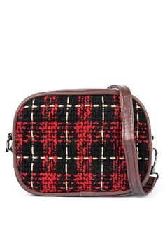 Jaime Checkered Shoulder Bag