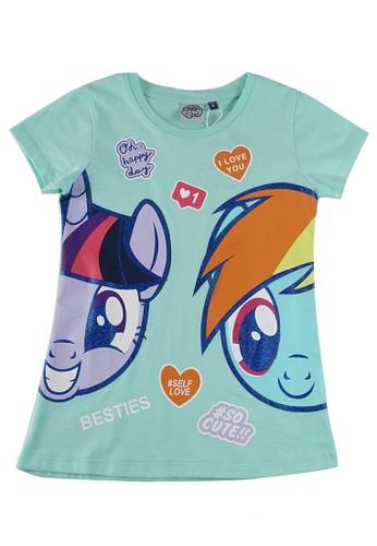 KIDS ICON green KIDS ICON - Kaos Anak Perempuan My Little Pony 04-12 Tahun With Printing Detail - PY100100200 747CBKAFE43EE2GS_1
