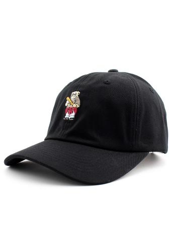 DOSSCAPS black PREMIER Bad Bear Baseball Cap (Black) CD9C6AC03D5FEDGS_1