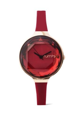 RumbaTime red Rumbatime Orchard Gem Mini Watch Merlot RU023AC19MUMHK_1