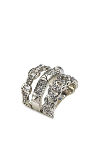 ALDO silver Febriclyaw Ring AFA85AC8A05DEBGS_1