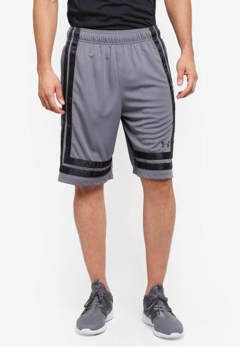 "Under Armour grey UA Baseline 10"" Shorts UN337AA0SU5EMY_1"