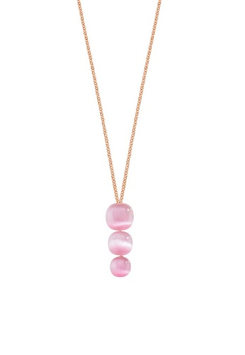 Morellato gold Gemma Necklace SAKK01 925 Silver Crystal Cat Eye 23162AC14B817CGS_1