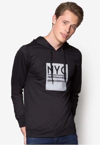 NYC 連帽長袖衫, 服飾, 連帽上esprit台灣outlet衣