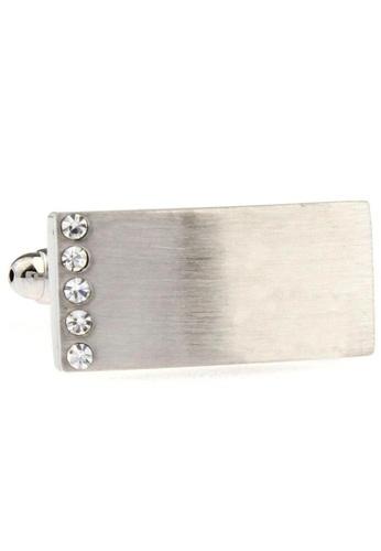 The Little Link Cufflinks silver Linear cufflinks TH089AC0FSV1SG_1