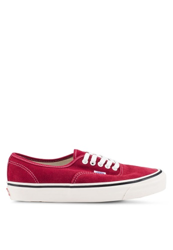 VANS red Authentic 44 DX Anaheim Factory Sneakers 63707SHE353A00GS_1