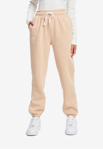 Calli beige Wellness Jogger Pants 21605AA58B0008GS_1