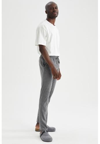 DeFacto grey Regular Fit Homewear Bottoms 40289AA912CF80GS_1