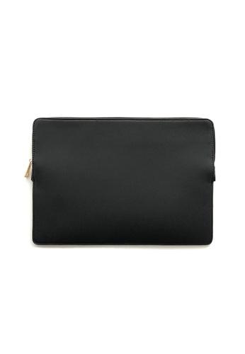 "Knocks black 15.6"" Slim Laptop Sleeve Black 9DA65AC5E763FFGS_1"