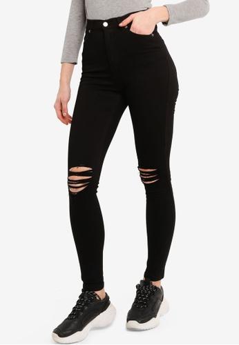 Dr Denim black Moxy Super Skinny Sky High Rise Jeans 9E5D1AAB9E3CDBGS_1