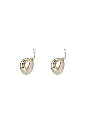 GLOBAL WORK gold Loop Cuffs Earrings 8BCBDAC85FEBE1GS_1