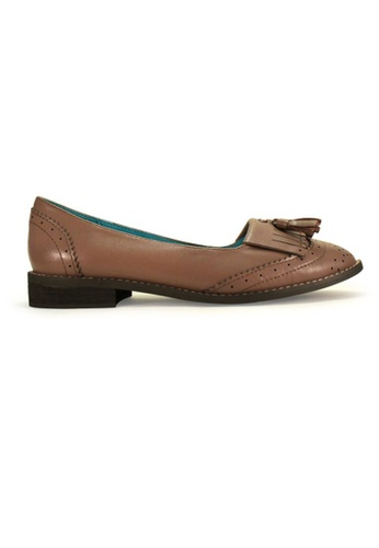 Gripz brown OX Slip On Loafers GR357SH73IOKSG_1