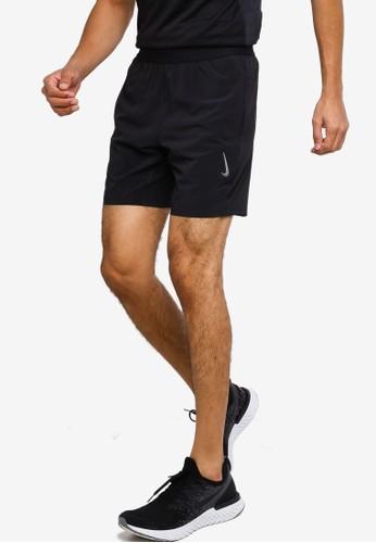 Nike black Men's Yoga Dri-Fit Shorts E3A3EAA4F55361GS_1