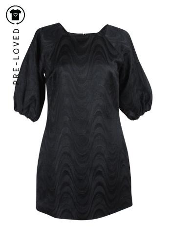 Jovovich Hawk black Pre-Loved jovovich hawk Black Dress 0D88CAAEA6C877GS_1