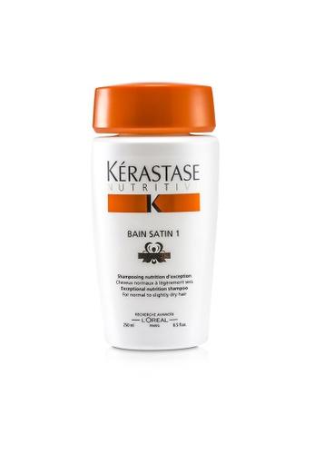 Kérastase KÉRASTASE - Nutritive Bain Satin 1 Exceptional Nutrition Shampoo (For Normal to Slightly Dry Hair) 250ml/8.5oz E40C8BE04D73DDGS_1
