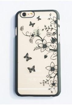 Side Garden Hard Transparent Case for iPhone 6/6s