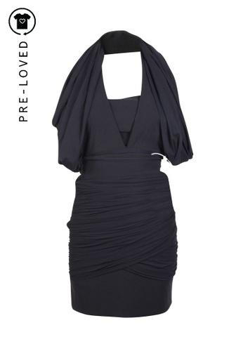 Preen By Thornton Bregazzi black Pre-Loved preen by thornton bregazzi Black Strapless Side Zipper Dress 55CD1AAAB9A6EFGS_1