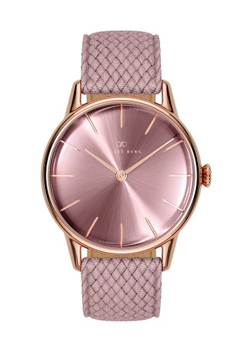 August Berg pink Serenity Ash & Orchid Rose Gold - Orchid Perlon 32MM 72C13AC622C381GS_1