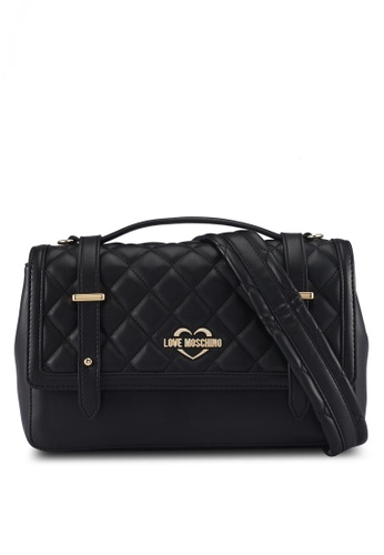 Love Moschino black LOVE MOSCHINO Top Handle Bag LO478AC0SXW1MY_1