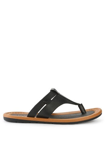 Watchout! Shoes black Sandals Thongs 59F9FSH765E92FGS_1