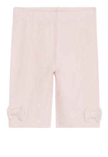 Du Pareil Au Même (DPAM) pink Pink Bow Leggings 75CF8KAC2ABAC3GS_1
