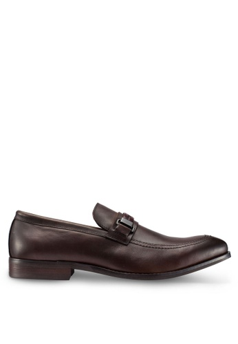 Carlton London brown Slip On Loafers 37769SH3E43E25GS_1