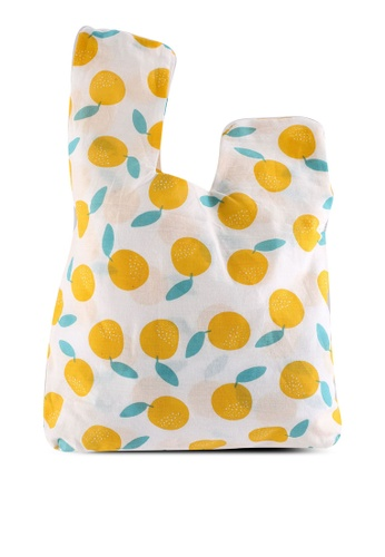 Milliot & Co. yellow 2-Pack Bag-for-Life Reusable Shopping Bags 5E6AFACE66D2DBGS_1