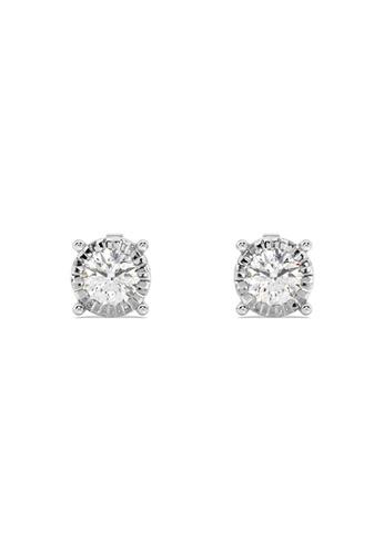 HEBE gold Sustainable Diamond Stud Earrings 70ACEACD658594GS_1