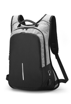 1519ecb271c5 18% OFF Jackbox Anti Theft   Snatch Business Laptop Backpack with Password  Lock   USB Charging Port 538 (Grey) RM 110.00 NOW RM 89.90 Sizes One Size
